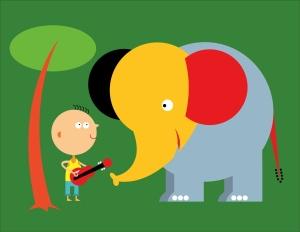 elephantWboyWguitar